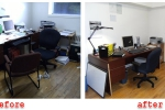 Home Office Before and After